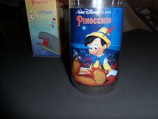 Walt Disney Pinocchio Burger King Collector Glass 1994