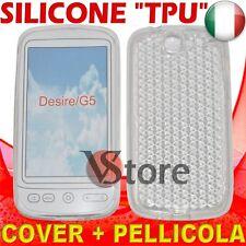 Cover Custodia Silicone Trasparente Per HTC DESIRE silicone