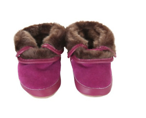 Robeez Cozy Ankle Bootie Jelly (purple) 0-6 months