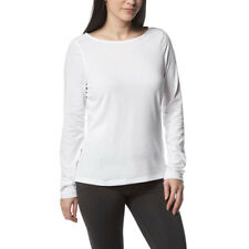 Craghoppers Womens Clothing Insect Shield Erin Long-Sleeve Top White Size XXL 14