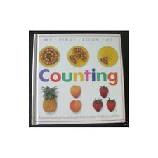 MY FIRST LOOK AT COUNTING A preschool picture book in English Illustrations 1990