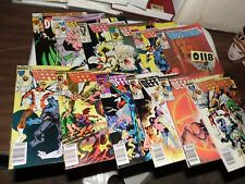Defenders lot of 12 books 120 126 127 128 129 130 131 132 134 135 136 and 138