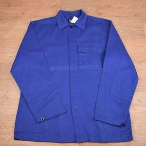 Vtg French EU Worker CHORE Work Shirt Jacket - Medium #121 GRADE A