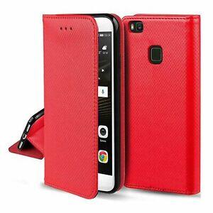 LG K22 Handyhülle Schutztasche 360 Grad Cover Case Wallet Etuis Bumper Rot Neu