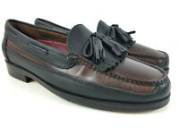 Casual Fridays Men's Leather Top-Sider Tassel Loafer Boat Shoes Size 8.5 M