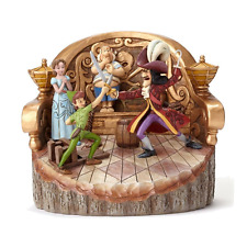 Disney Traditions Ornament Peter Pan, Wendy & Captain Hook Figurine