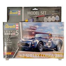 Revell 67669 '62 Shelby Cobra 289 Model Set (Level 5) (Scale 1:25)