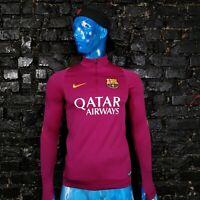 Barcelona Barca Training Jacket Long Sleeve Nike 776273-560 Polyester Mens SZ M