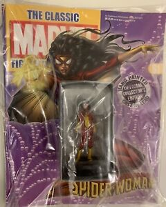 Eaglemoss Classic Marvel Figurine #61 SPIDER-WOMAN. New Condition.