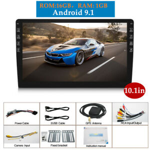10.1in Touch Car Android 9.1 Blueteeth Stereo Radio 2 DIN Player GPS Wifi