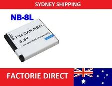 Replacement Battery NB8L NB-8L Canon Powershot A1050 A2200 A3000 A3100
