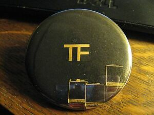 Tom Ford Pocket Mirror - Repurposed Designer Logo Magazine Ad Lipstick Mirror