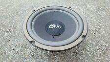 """OHM MODEL H 8"""" WOOFER, EXPERTLY REFOAMED, MASSIVE 7 LBS!"""