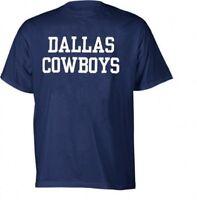 NFL Dallas Cowboys Men's 100% Cotton Coaches T-Shirt Size L