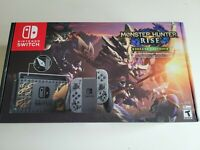 Nintendo Switch Monster Hunter Rise Deluxe Edition Console - Brand New In-Hand