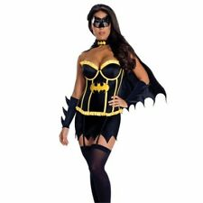 Womens Batgirl fancy dress outfit, superhero, Batwoman outfit clubwear Size M