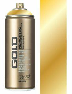 Montana Gold M3000 Gold Chrome Spray Paint - 400ml