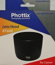 PARASOL BAYONETA Phottix ET-64II ET64II para Canon EF 75-300mm f/4-5.6 IS USM