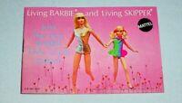 1970 Living BARBIE & Living SKIPPER CATALOG • w/ Fashion Furniture Accessories+
