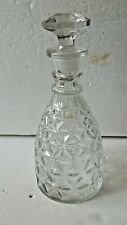 Whiskey Decanter Crystal Bottle Wine Liquor Vintage Glass Scotch Stopper 28oz