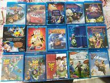 16 Blu-ray Disney ( toy story 1 2 3 , raiponce , volt , la haut , princesse ...)