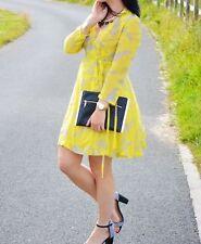 Knee Length Chiffon Floral Skater Dresses