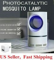 Electric Fly Bug Zapper Mosquito Insect Killer LED Light Trap Control Lamp Pest