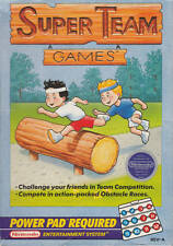Super Team Games - NES Nintendo Power Pad Game