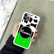 Personalised Cow Print For iPhone Samsung Huawei OnePlus Phone Case Cover OD31-4