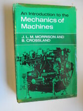 Acceptable - An Introduction to the Mechanics of Machines. With plates and diagr