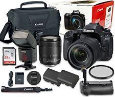 Canon EOS 80D Digital SLR Camera Bundle with EF-S 18-135mm f/3.5-5.6 IS USM Lens