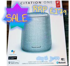 Brand New HARMAN KARDON CITATION ONE MKII Smart Speaker Google Assistant RRP£179
