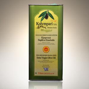 Natives Olivenöl Extra Kolympari g.U. aus Kreta 5 liter Kanister