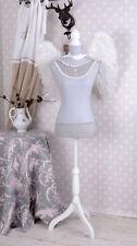 Buste Shabby Chic Mannequin de couture vintage hauteur réglable support en bois