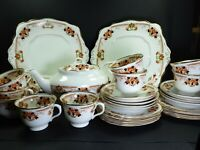 Antique Royal Albert Crown China Part Tea Set