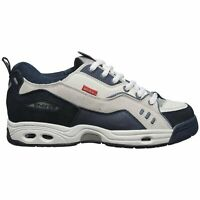 GLOBE CT-IV Classic Mens Skate Shoes Trainers Sneakers - White Blue - UK 9 10 11