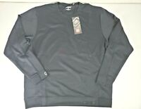 Ogio Mens Header Pullover Shirt Sweater Black Long Sleeve Size Large NWT