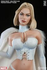 Sideshow Emma Frost EXCLUSIVE Premium Format Statue (X-Men, White Queen, Marvel)