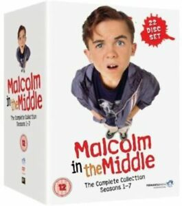 MALCOLM IN THE MIDDLE COMPLETE COLLECTION SEASONS 1-7 DVD BOXSET NEW & SEALED