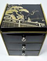 Vintage Japanese Table Cabinet/Jewellery Box