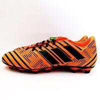 New Adidas Nemeziz 17.4 FXG Pyro Storm Soccer Cleats Mens Size 9.5