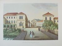 Th. Presuhn Der Casinoplatz Oldenburg Kunstdruck G-1488