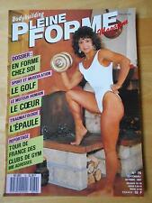 PLEINE FORME #79 female bodybuilding muscle magazine EVELYNE BAVAY 10-87 (Fr)