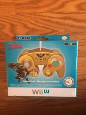 Brand New HORI Legend of Zelda Battle Pad Controller - Link - Never Opened Wii U
