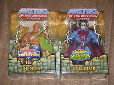 MOTU Classics Figure Lot Galactic Protector He-Man and Intergalactic Skeletor NA