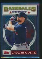 2020 Topps Baseball's Finest Flashbacks #51 Ender Inciarte Braves