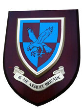 16 Air Assault Regiment Military Shield Wall Plaque
