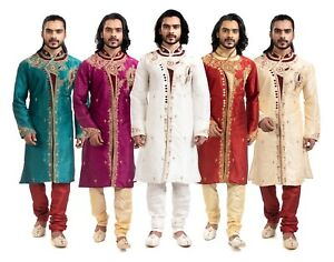 itailorman Indian Ethnic Design Kurta Churidar for Men 2pc - (Worldwide Postage)