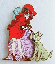 ART OF PIRATES OF THE CARIBBEAN RED HEAD DOG KEYS 3.5 inch FANTASY PIN LE 50