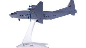 1:200 Herpa Slovakia Air Force Antonov AN-12 Military Aircraft Diecast Model